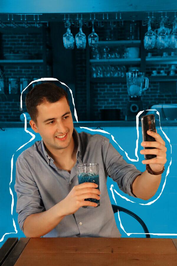 Tom Vink eigenaar van Jeasy op de foto voor The New Standard website